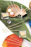 Bambusaufsteckspindeln