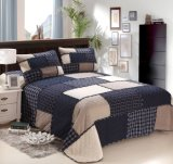 Linge 100 % coton ensemble disparate de Plaid quilts