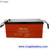Solargel-Batterie 12V 200ah, tiefe Schleife-Solarbatterie 12V