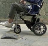 Sales를 위한 불리한 Folding Super Lightweight Power Wheelchair