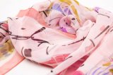 Signora variopinta Scarf di Flaral della sciarpa di seta alla moda delle donne di lusso di seta pure di modo