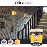 Super resistente al agua de adherencia álcali resistente mejor pintura de paredes interiores