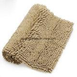 Lavable a máquina moderna de poliéster de chenilla alfombra alfombra&