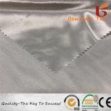 100%RPET reciclado/vestido de satén de satén tejido con ecológica