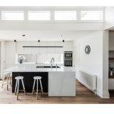 Американский проект белый лак MDF кухонным шкафом