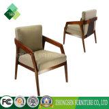 덴마크 거실 (ZSC-43)를 위한 Styel 나무로 되는 안락 의자에 의하여 덮개를 씌우는 의자