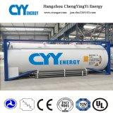 2018 ISO бака для жидкого кислорода и азота / аргона