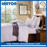 Comforter cinzento/cinzento branco barato por atacado do pato para baixo para o uso da HOME/hotel/hospital