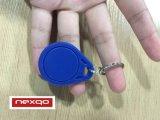 アクセス制御のためのTk4100 Lfの近さRFID Keyfobのスマートなキーホルダー