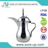 1.3L acier inoxydable Dallah électrique à mur unique pour le lait de café de thé