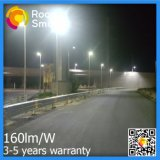 15W-50W調節可能な太陽電池パネルが付いている統合された屋外の太陽街灯