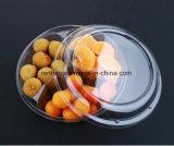 Fabrik-Großhandelsrunder Backen-Kuchen-Frucht-Verpacken- der Lebensmittelplastikkasten