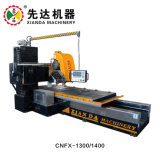 CNC van de Verkoop van Xianda Hete Multifunctionele het Profileren Lineaire brug-Scherpe Machine, de Rand die van de Steen Machine profileert