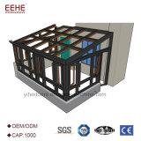 Sunroom moderno eficiente das estruturas da energia