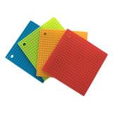 Couvre-tapis anti-caloriques de cuvette de couvre-tapis en caoutchouc de silicones de catégorie comestible