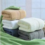 Изготовление 100% полотенца пляжа полотенца ванны гостиницы звезды хлопка