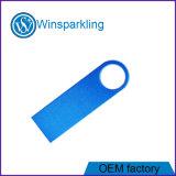 Logotipo livre Ouro Prata Pen Drive USB de memória flash