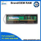 RAM 16chips DDR3 8GB en gros de la Chine pour l'appareil de bureau