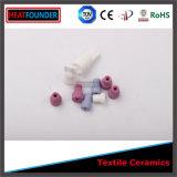 Remache de cerámica negro para la máquina de materia textil