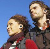새로운 소형 무선 Bluetooth 4.1 에서 귀 입체 음향 스포츠 헤드폰 이어폰
