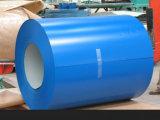 上塗を施してあるアルミニウムを波形を付けられる着色しシートにSGS/Iosと屋根を付ける