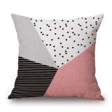 A roupa de algodão travesseiro impressas caso sem recheio para sofá (35C0223)