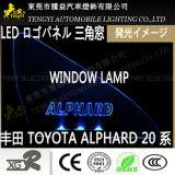 LED-Selbstauto-Fenster-Licht-Firmenzeichen-Panel-Lampe für Bewegung Honda- OdysseyToyota Alphard