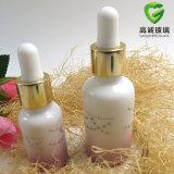 Botella de petróleo esencial blanca de Porcelai