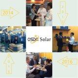 comitato solare 130W con il certificato di Idcol