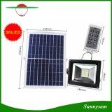 원격 제어를 가진 방수 옥외 태양 안전 정원 스포트라이트를 점화하는 30의 LED 태양 플러드