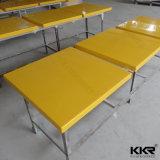 レストランの家具のアクリルの固体表面4のSeaterの食卓