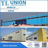 Fabricante de aço Prefab da construção do telhado da estrutura industrial