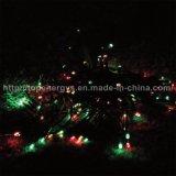 Jardin de 200 DEL décorant la lumière solaire solaire de chaîne de caractères de lumières de Noël