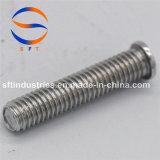 Стержень M3*20 продетый нитку алюминием (PT) ISO13918