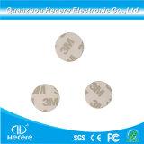 13.56MHz MIFARE klassische 1K S50 RFID Platte versieht Plastikmünzen-Karte mit Warnschild