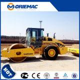 Heiße 16 Tonnen-Schmutz-Verdichtungsgerät-Maschine Liugong Straßen-Rolle Clg616
