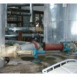 A válvula de descarga de fundo plano fb45y para o Workshop de precipitação de sementes de Alumina