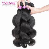 Tessuto brasiliano dei capelli umani del Virgin dell'onda del corpo del grado 7A di Yvonne