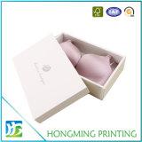 Caja de embalaje de papel para el rectángulo de la camisa de la ropa de la ropa interior del sujetador