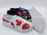 Hotsale пробуксовки колес на холсте обувь повседневная обувь ЭБУ системы впрыска обувь детей (ZL1017-5)