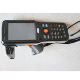 6m de distancia larga WINCE 6.0 Lector de códigos de barras Screen3.5'' IP64 de bolsillo UHF RFID Reader