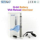 De beste Verkopende Verstuiver van de Uitrusting van de Sigaret van de Gezondheid Seego Elektronische voor Essentieel Droog Kruid