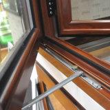 Indicador de madeira da grão do frame de alumínio do material de construção para o apartamento
