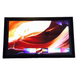 "Wand, die volles HD 27 "" großer Touch Screen LCD-Monitor einhängt"