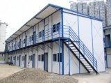 La estructura de acero de construcción prefabricados Casas Prefabricadas