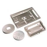 Metallo dell'acciaio inossidabile che timbra parte