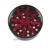 &⪞ Apdot; Venta caliente 017 4 porciones de aluminio Toba⪞ ⪞ Amoladora de la hierba de O