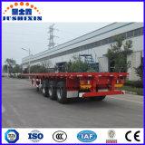 35-80tons 3車軸販売のための平面貨物トレーラー