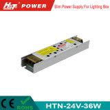 электропитание переключения 24V 36W тонкое СИД для светлой коробки