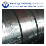 工場Dx51d Z30-Z60 0.15mm-2.0mmは電流を通したGIの鋼鉄コイルのストリップ(SGCC、PPGI、ASTM A653)に